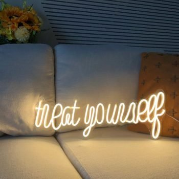 PRODUCT FEATURES ● Beautiful, Cute, and Bright, you can adjust your neon to any brightness you want, Create a beautiful ambiance throughout the room. It's perfect to brighten up any room including your bedroom, living room, garage, office. ● Quiet and no noise, can be placed anywhere, and instantly becomes a unique art piece and the wow factor to your space, The transparent wires are practically invisible, Nice and clean. ● Made to Order. All our signs are hand-made to order, and the above lead-times include both the production and delivery. ● Absolutely safe. Made from LED soft silicone tubes and are very safe to be around children. Suitable for any home, bar, coffee shop, store, dormitory, wedding, party, along with anniversary, birthday, or holiday gifts for children, your loved ones, parents and friends. ● You chose your colors to match the mood You feel. You can choose a custom color and size from our available options before you add it to your cart. ● Brighten your world with this unforgettable LED neon sign. Deck out your home or office, or add magic to your next event. Blending effortlessly with any color scheme, this light sign is a great way to add something unique. ● You can visit our custom listing: Customize Neon, completely customizable, from a custom color palette to custom size, text, letters, and patterns, let your imagination run wild. PRODUCT DETAILS ● Size: 7 options (Other sizes can be customized). ● Color: 9 color options (ore or Mixed colors also can be customized). ● Dimmable: Option available. ● Weight: 2.50 – 5 KG ● Power plug and the Input voltage: The plug and voltage are suitable for your local standard. ● Output voltage: 12V ● Material: LED Silica gel tubes. Acrylic plate ● Cables: 10 ft. (Other lengths can be customized). ● Backplane color: Transparent (other colors can be customized, including mirror, please tell us). ● Waterproof: Available to be customized. The standard product is suggested to not have water contact ● Mounting: Wall
